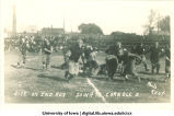 Iowa-Cornell football game at Iowa Field, The University of Iowa, October 6, 1913