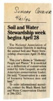 Soil and Water Stewardship Week