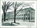 Eastern exterior of Chemistry-Botany-Pharmacy Building, The University of Iowa, 1920s