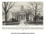 Old Capitol and Induction ceremony behind MacLean Hall, The University of Iowa, 1925