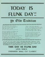 Today is Flunk Day: ye olde tradition!!