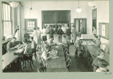 University High School cafeteria, The University of Iowa, April 1928