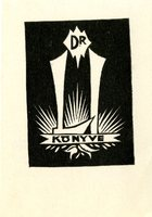 Konyve Bookplate