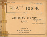 Plat book of Woodbury County, Iowa