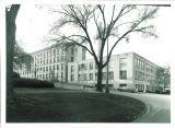 Engineering Building facing north, the University of Iowa, 1950s