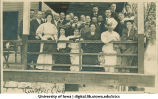 Liberal Arts class of 1897 reunion at country club, The University of Iowa, June 1907