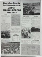 Cherokee County Soil Conservation District Annual Report - 1973