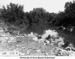 Iowa River dump site, Iowa City, Iowa, November 25, 1933