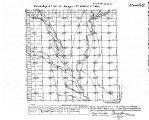 Iowa land survey map of t085n, r019w