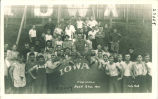 Freshmen push ball participants, The University of Iowa, 1914
