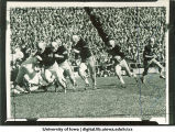 Football game at Kinnick Stadium, The University of Iowa, 1958