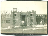 Construction of Quadrangle and ROTC trench digging, the University of Iowa, 1920
