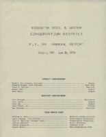 1990 Kossuth County Soil and Water Conservation District Annual Report