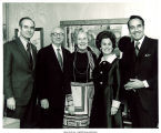 Mary Louise Smith with influential state and national Republicans, 1970s