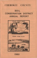 Cherokee County Soil Conservation District Annual Report - 1980