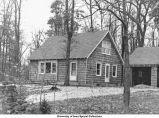 Louis Pelzer cottage, Iowa City, Iowa, 1946
