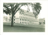 MacLean Hall seen from northwest, the University of Iowa, 1960s?