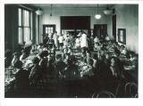 University Elementary School lunchroom, The University of Iowa, 1930s?