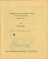 Cherokee County Soil Conservation District Annual Report - 1976