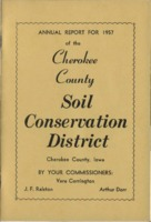 Cherokee County Soil Conservation District Annual Report - 1957