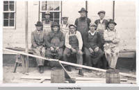 Carpenter Crew, Homestead, Iowa, ca. 1924