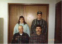1996 - NRCS Office Staff at the Des Moines County Soil and Water Conservation District office.