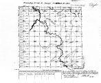 Iowa land survey map of t096n, r016w