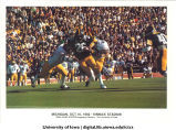Iowa-Michigan football game at Kinnick Stadium, The University of Iowa, October 16, 1982