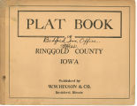 Plat book of Ringgold County, Iowa