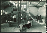 Materials testing lab, The University of Iowa, 1919