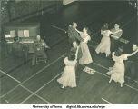 Dance in Halsey Hall, The University of Iowa, 1940s