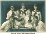 1920 softball team, The University of Iowa, 1920