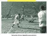 Iowa-Notre Dame football game at Kinnick Stadium, The University of Iowa, November 24, 1956