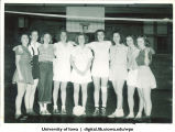 1945-46 volleyball winners, The University of Iowa, 1945