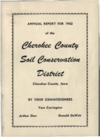 Cherokee County Soil Conservation District Annual Report - 1962