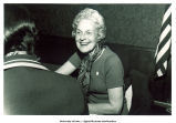Mary Louise Smith in interview at G.O.P. Women's Political Day, 1976