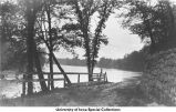 Iowa River near City Park, Iowa City, Iowa, between 1915 and 1920