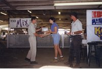 1999 -  Charles Thie Receives Woodland Owner of the Year Award