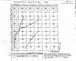 Iowa land survey map of t099n, r044w