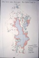Iowa Great Lakes Watershed - West Okoboji Land Use Map.