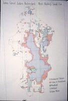 Iowa Great Lakes Watershed - West Okoboji Land Use Map.