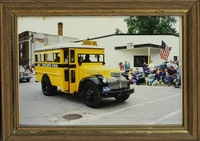 School Bus in Orient, Iowa