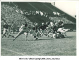 Iowa-Wisconsin football game, The University of Iowa, October 2, 1943
