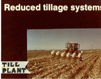 No Till Planting Reduced Tillage