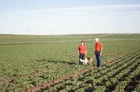Quad State Award winners Frank and Marcia Escue farm.