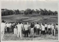 Conservation tour of Worth Van Clark's farm.