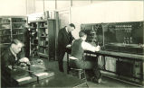 Students working in an electrical engineering laboratory, The University of Iowa, 1931