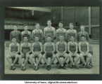 Iowa basketball team and coach Rollie Williams, The University of Iowa, 1932