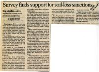 Soil-Loss Sanctions