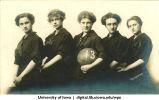 Women's basketball team, The University of Iowa, 1913